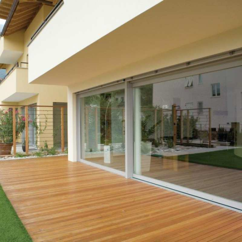 Porta finestra alzante scorrevole in alluminio finestre in pvc marca finstral ciccarone - Porta finestra legno ...